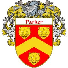Parker Coat of Arms   namegameshop.com has a wide variety of products with your surname with your coat of arms/family crest, flags and national symbols from England, Ireland, Scotland and Wale