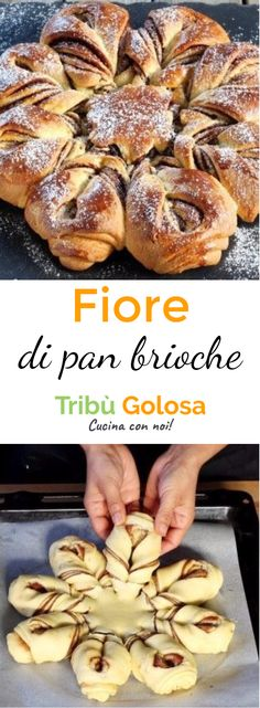a italian recipe Pastry Design, Traditional Cakes, Nutella Recipes, Bread And Pastries, Sweet Cakes, Eat Breakfast, Italian Recipes, Sweet Recipes, Food And Drink