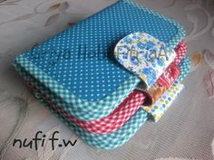 """nufi"" fabric wallet"