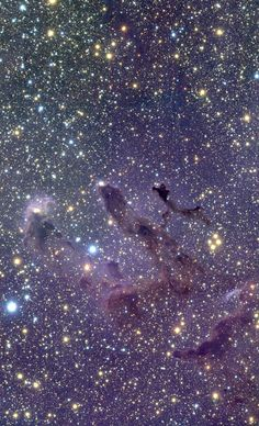 The Eagle's EGGs | Messier 16 (M16), also known as the Eagle Nebula, is located in the southern constellation of Serpens (the Snake).