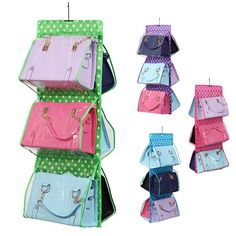 Oxford cloth hanging bags sofa bed hang receive bag bedside storage hanging bag organizer ZH992 #Affiliate