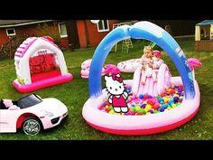 ✿ Hello Kitty БАССЕЙН С ШАРИКАМИ Toys for Girls Игры Для Девочек Hello Kitty Kids Pool    {{AutoHashTags}}