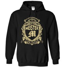 PROUD TO BE MEISTER T-Shirts, Hoodies. BUY IT NOW ==► https://www.sunfrog.com/Names/PROUD-TO-BE-MEISTER-5955-Black-34993658-Hoodie.html?id=41382