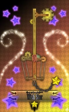 Wishing Star Keyblade