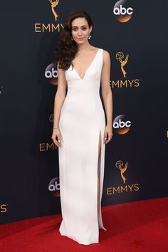62a175fa5c3 Emmy Rossum arrives at the 68th Primetime Emmy Awards Primetime Emmy Awards  2017