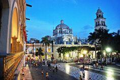 Catedral y Zócalo ~ El Puerto de Veracruz