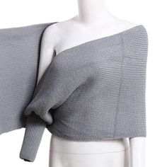 Wrapped Up In You Wrap Sweater - Grey