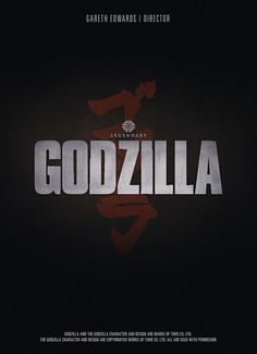 Godzilla Poster @ Comic Con 2012 - The less than 1 minute footage was enough. Hall H went nuts!