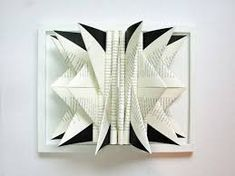 Image result for how to fold book sculpture