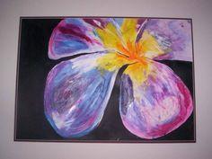 Purple Frangipani
