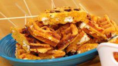 Rachael Ray Show - Food - Buffalo Corn Dog Waffles