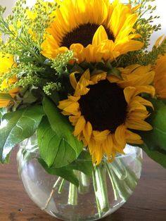 Sunflowers are my favorite!