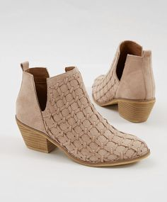 Suede Ankle Booties : Miim Lavin Ankle Boot | Buckle