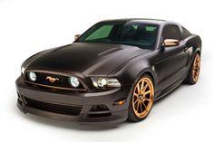 "2013 Custom Built Ford Mustang GT/CS 6 Speed - ""High Gear"" matte black and gold"