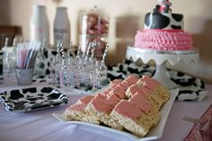 MooMoos & TuTus Second Birthday Party. All items available for recreation or purchase. Event planning services provided by Down Emery Lane. Cow Birthday Parties, Birthday Tutu, Baby First Birthday, Birthday Ideas, Tutu Party, Cake Party, Milk Cookies, Cookies For Kids, First Birthday Invitations
