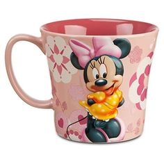 Minnie Mouse Disney Spring Floral Mug  Cup -- You can find more details by visiting the image link.