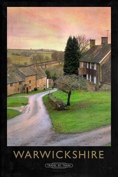 Warwickshire Railway Poster