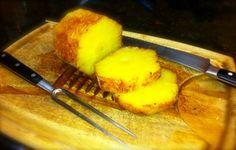 Rum Soaked Pineapple with Cinnamon Sugar Glaze on the Rotisserie