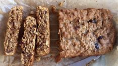 Oat, seed and date bars recipe