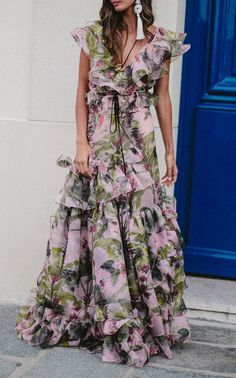Lala Salama Silk Organza Skirt by JOHANNA ORTIZ for Preorder on Moda Operandi