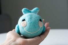 How to make a needle felted rattle