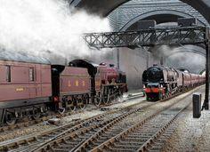 Steam at liverpool lime station By Train, Train Car, Train Tracks, Diesel, Steam Trains Uk, Train Miniature, Heritage Railway, Liverpool, Steam Railway