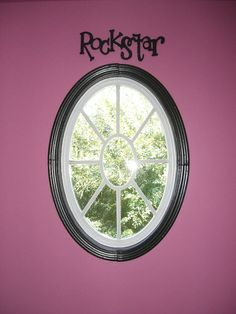 Rock star girl kid room