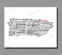 Hey, I found this really awesome Etsy listing at https://www.etsy.com/listing/209533385/puerto-rico-map-puerto-rico-print