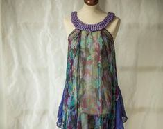 Upcycled vintage bohemian style clothing for women by Upcycled Vintage, Vintage Bohemian, Vintage Tops, Bohemian Style Clothing, Trouser Outfits, Summer Tops, Women Wear, Fashion Outfits, Sustainable Environment