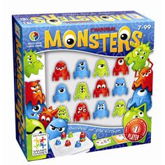 Smart Games - Monsters by Smart-Tangoes USA | eBeanstalk