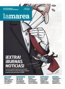 Cinco años con La Marea, Prensa libre e independiente, Infromación comprometida, código ético publicitario, #YoIBEXtigo, Periodismo