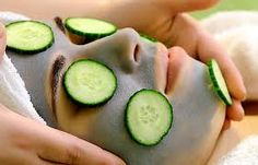 How to make cucumber face packs and masks at home for oily skin & dry skin Cucumber For Face, Cucumber Mask, Homemade Face Pack, Scar Removal Cream, Look Good Feel Good, You Look Beautiful, Facial Treatment, Deep