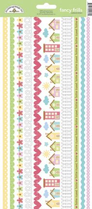 Doodlebug Design - Welcome Home Collection - Cardstock Stickers - Fancy Frills at Scrapbook.com $1.99