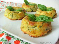 Sfizi e pasticci: Sformatini di zucchine