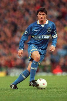 Gary Speed R.I.P. Gary Speed, Hot Blue, Everton Fc, Football Soccer, American Football, Premier League, Legends, Blues, War