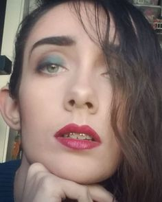 """I was watching @nikkietutorials , and her """"Ending Makeup Shaming"""" video meant a lot to me. When I was in high school, people told me how I'm wearing too many colors, the dark lip is too scary, or essentially how I'm """"supposed"""" to wear makeup.  How is a teenage girl who is trying to become the person she WANTS to be if society tells her what she SHOULD be? I say do whatever kind of makeup look you want. Rock a blue lip, make yourself glow with that highlight, wear any combination of…"""