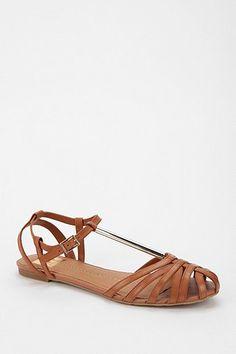 DV By Dolce Vita Metal T-Strap Sandal