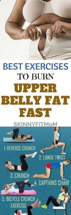 Lose Fat Belly Fast - Best Exercises To Burn Upper Belly Fat Fast - Simple Ways To Get Flat Stomach in 2 Weeks That Work Fast. With These Highly Effective Workout Routines on how to burn Upper Belly Fat, you will be able to burn that stubborn stomach fat