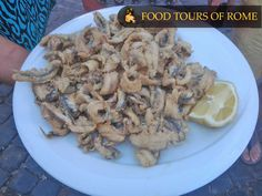 Alici Fritte (Fried fresh anchovies)