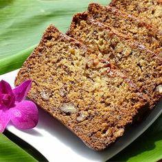 Best Ever Banana Bread Banana Bread Recipe Allrecipes, Nut Bread Recipe, Banana Bread Recipes, Banana And Egg, Moist Banana Bread, Sweet Bread, Dessert Recipes, Breakfast Recipes, Dinner Recipes