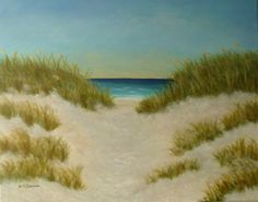 Path to the Beach Painting