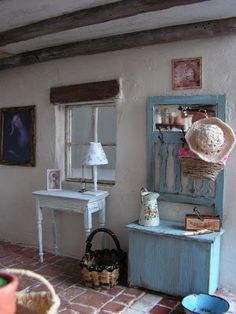 Mini daydreams: Old project - Country French Cottage -downstairs