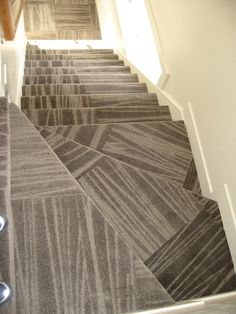Superbe Carpet Tile Stairs! Tile On Stairs, How To Install Tile, Basement Flooring,