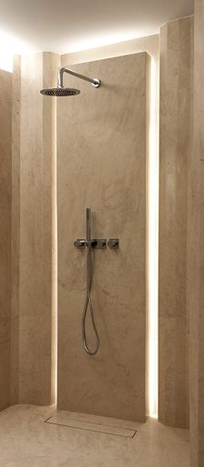 gorgeous shower detail by Piet Boon