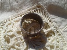 Gorgeous Filigree Band #Ring - Antique piece in sterling silver Tribal ring  US…
