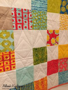 "Charity Quilt No. 3 ""From Outside In"" 