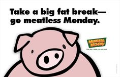 Meatless Monday - Home Monday Inspiration, Meatless Monday, People Around The World, Hello Kitty, Fat, Take That, Eco Products, Mondays, Bulletin Board