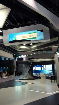 "exhibition stand "" Vnesheconombank"" to St. Petersburg International Economic Forum 2013. Design and contraction by ""Expoforce"" company"