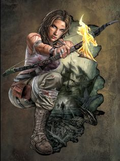 Tomb Raider by losromanos.deviantart.com on @deviantART