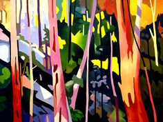Distilled light bushscape
